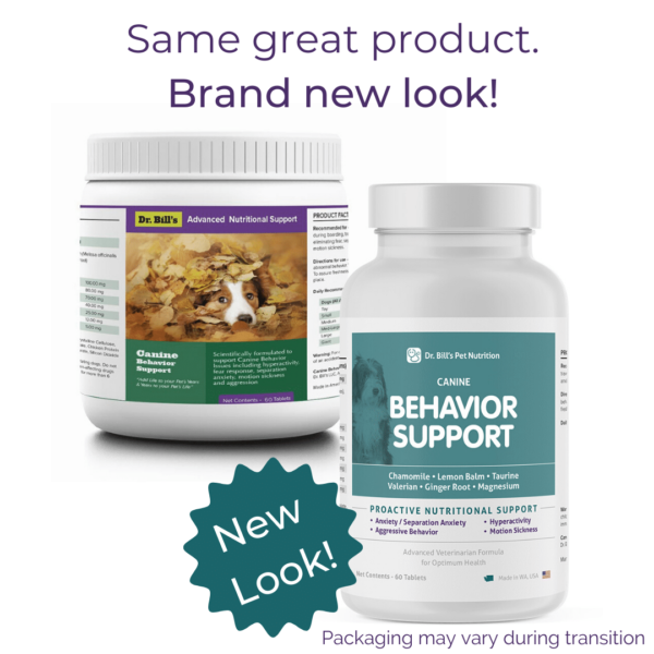Canine Behavior Support Packaging