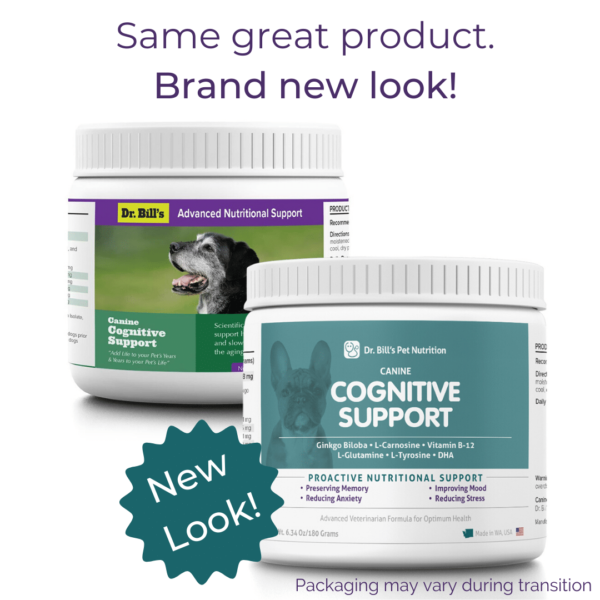 Canine Cognitive Support Packaging