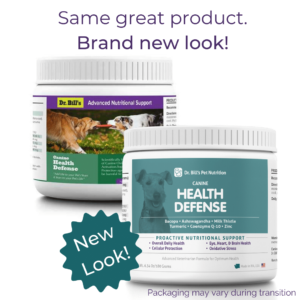 Canine Health Defense Packaging