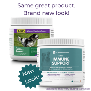 Canine Immune Support Packaging