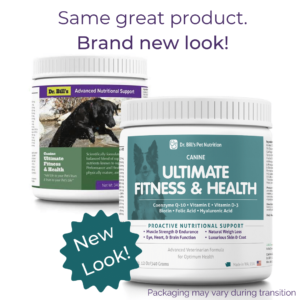 Canine Ultimate Fitness Health Packaging