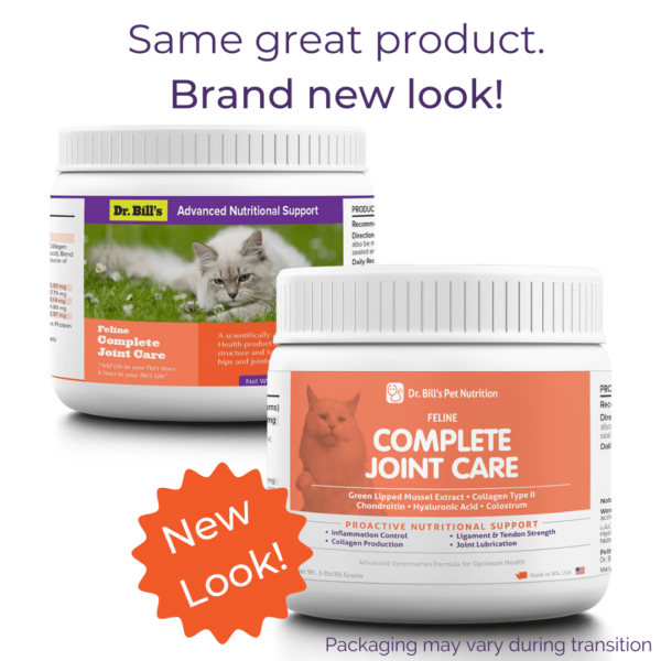 Feline Complete Joint Care Packaging