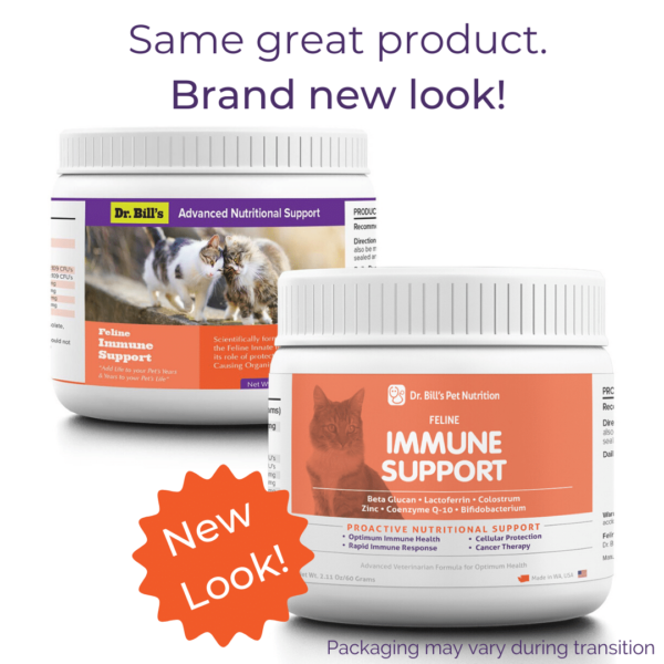 Feline Immune Support Packaging