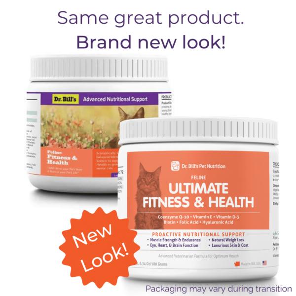 Feline Ultimate Fitness Health Packaging